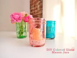 diy colored glass mason jars freutcake jpg