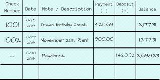 Check Ledger How To Properly Write A Check Filling Out A Check Fiscal Tiger