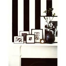 black white striped wallpaper saved by chic n living