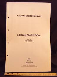 buy 1961 lincoln continental electrical wiring diagrams schematics 1965 Lincoln Wiring Diagrams Automotive 1990 lincoln continental electrical wiring diagrams schematics