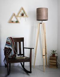 Diy Wood Floor Lamp Diy Tripod Floor Lamp The Merrythought