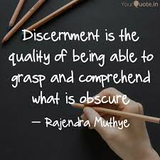 Resultado de imagem para discernment quotes