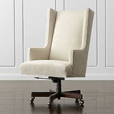 home office desk chairs chic slim. Neo Upholstered Wingback Office Chair Home Office Desk Chairs Chic Slim P