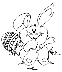 Free Easter Bunny Coloring Pages Colouring Sheets Online Printable