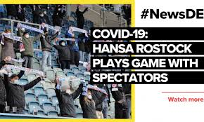 Find hansa rostock results and fixtures , hansa rostock team stats: Hansa Rostock Plays In Front Of Spectators Fans Say Thank You
