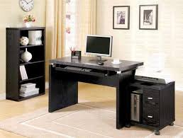 simple home office. Simple Elegant Home Office Design Ideas With Black Furniture D