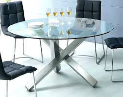 base for glass dining table modern round with unique 7 piece set