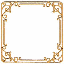 frame7 - Art Deco Frame - Machine Embroidery Design