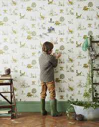 Bedroom, Sophisticated Magnetic Wallpaper Dinosaur Themed Can Increase  Creativity Of The Childrens And Beautify Childrens
