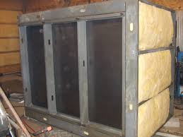 trying to match up the corners in the oven sounded like a lot of hassle when the panels were joined i used self tapping 14 s