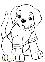 Puppy Color Page Dog Coloring Page With Puppy Color Pages Free