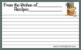 Recipe Cards Print Get Free Printable Recipe Cards Here Cookingnook Com