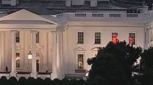 Red Lights White House White House Flashing Red Lights Mystery Solved Video