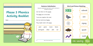 These free worksheets help your kids learn to define sounds from letters to make words. Phase 3 Phonics Phonics Method For Teaching Reading Pdf