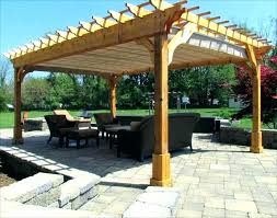 wood canopy outdoor cover patio awning covers plans d