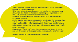 career archives my transcom experience my transcom experience if you also are looking for an international work experience and want to feel the taste of adventure being far away from your home contact your local