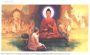 The master asian bhuddist woman