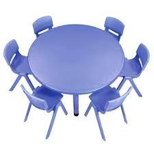 preschool art table. Preschool Art Table Six Plastic Chairs One Round Activity Package Activities