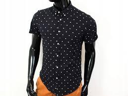 Details About F Zara Man Mens Shirt Short Sleeve Black Size Xl Show Original Title