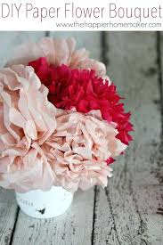 Paper Flower Bouquet Tutorial Paper Flower Bouquet