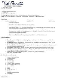 Copywriter Resume Resume Samples Freelance Writer Photography Government Resume 86