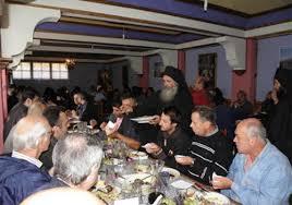 Αποτέλεσμα εικόνας για φαγητο στον αγιο ορο