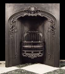 something like this for the corner fireplace in the living room antique victorian cast iron