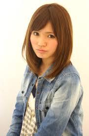 髪型 カタログ ミディアム ストレート Sanpatsu