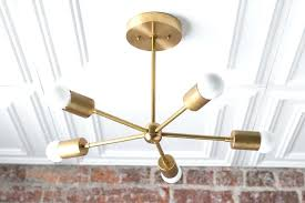 gold sputnik chandelier gold chandelier brass ceiling light modern fixture sputnik light creation white and gold