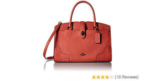 Amazon.com  Coach Mercer 30 in Deep Coral 37575  Shoes