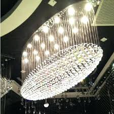 chandeliers round crystal chandelier lamp living room dining oval led light hotel custom chandeliers large