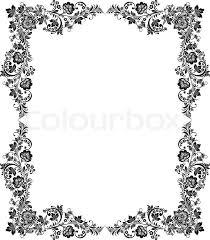 black white vintage borders and frames