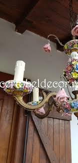 name old spanish chandelier