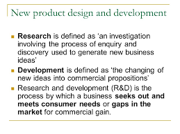 product topic marketing syllabus requirements classify  4 new product design and development research