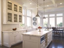 Pros And Cons Of Marble Vs Granite Countertops The Renovated Home White  Kitchen Cabinets  White Cabinets With Marble Countertops I86
