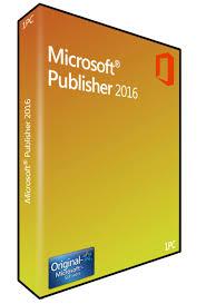 Microsoft Publisher 2016 Download 89 00eur