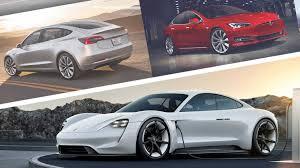 Porsche Model Chart 2020 Porsche Taycan Vs Tesla Model S Model 3 How Do They