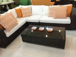 Outdoor Living Room Furniture Outdoor Living Room Furniture Set L Shaped Modular Sofa Mod