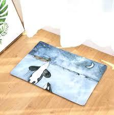 whale bath mat bath mat marine whale printed suede rug home decoration bathroom carpet doormat outdoor whale bath mat