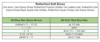 Rutherford Irish Dance Shoes Black Suede Sole Ghillies