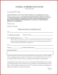 New Authorization To Speak On My Behalf Mailing Format
