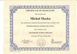Isl Secondary School Diploma