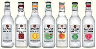Bacardi wine coolers.