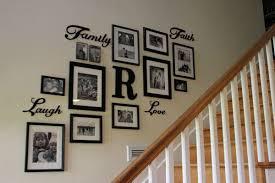 staircase wall decor