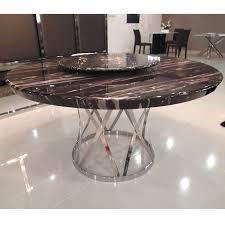 white marble round dining table stone within interior design ideas plan 2