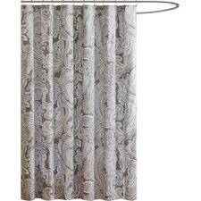 coral and brown shower curtain. hixson cotton shower curtain coral and brown