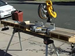 portable chop saw table. portable chop saw table fine homebuilding