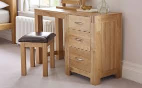 oak dressing table leather dressing table stool alto