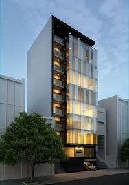 glass facade design office building. wonderful glass modern office building with patterned glass balconies and covered  penthouse garden in glass facade design office building f