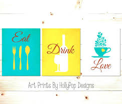 wall arts eat wall art drink and be merry decor collection fancy pattern love